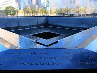 Forskellen på New York Sightseeing Day Pass og New York Pass - 9/11 Memorial