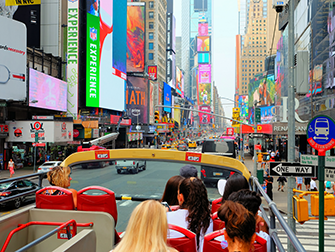 Forskellen på New York Sightseeing Day Pass og New York Pass- Hop-on-hop-off-bus