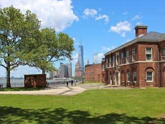 Governors Island New York - Udsigt til 1WTC