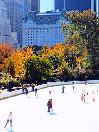 Guidet tur til filmlokationer i Central Park - Wollman Rink