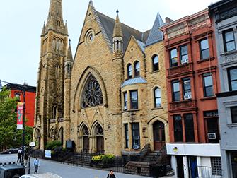 Harlem i New York - Kirke