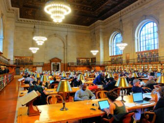 New York Public Library - Læsesal