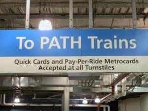 PATH mellem New Jersey og Manhattan