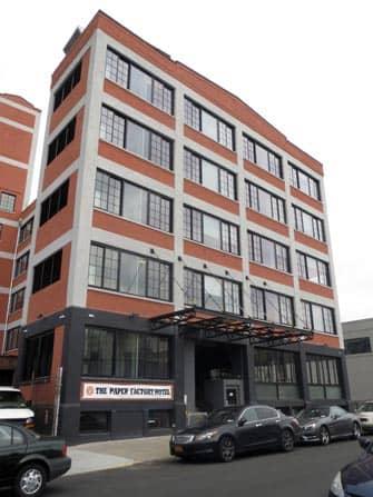 Paper Factory Hotel i New York - Facade