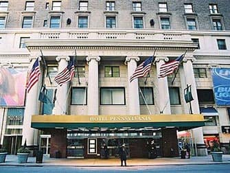Pennsylvania Hotel i New York - Facade