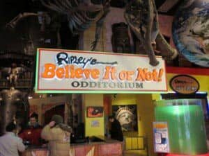 Ripley's Believe It or Not i New York