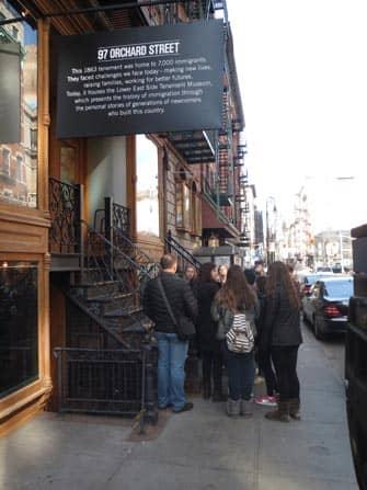 Tenement Museum i New York - Indgang