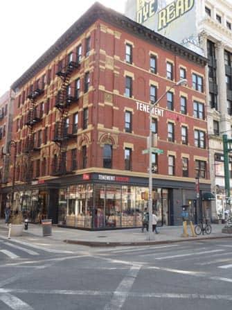 Tenement Museum i New York - Udenfor