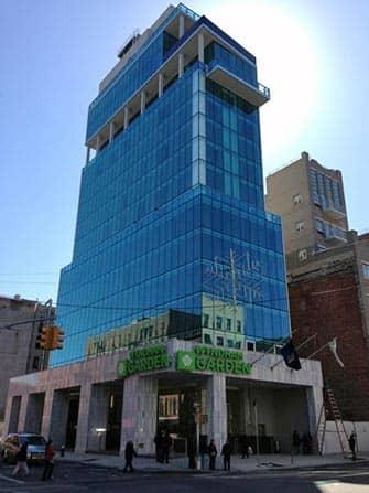 Wyndham Garden Chinatown Hotel i New York - Udefra
