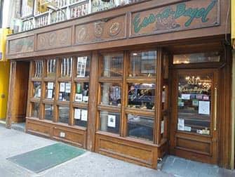 Bedste kaffe og bagels i New York - Bagel fra Ess-A-Bagel