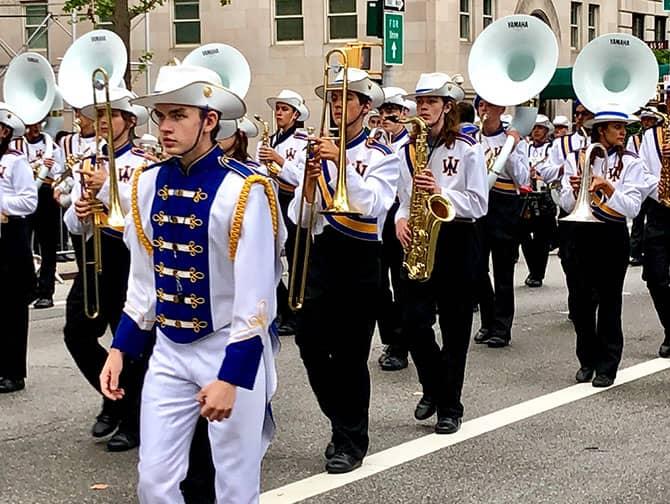 Columbus Day i New York- Band