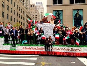 Columbus Day i New York - Italienske studerende