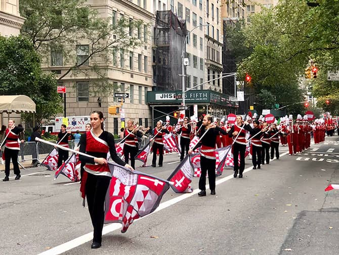Columbus Day i New York - Parade
