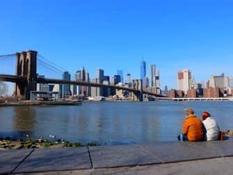 Den bedste udsigt i New York - Brooklyn Bridge Park