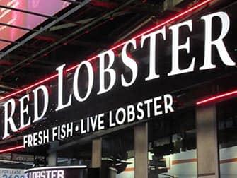 Spise ude med børn i New York - Red Lobster
