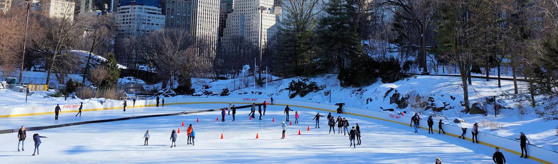 Løb på skøjter i New York
