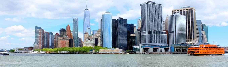 Bådture i New York