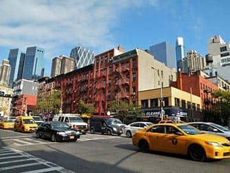 Hell's Kitchen i New York - 9th Ave og 52nd Street