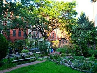 Hell's Kitchen i New York - Clinton Community Garden