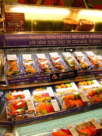 Bedste sushi i New York - Whole Foods