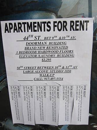 Bo og arbejde i New York - Lejligheder til leje