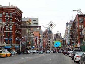 Chinatown i New York - Gade