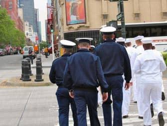 Fleet Week i New York - Flådens friske fyre