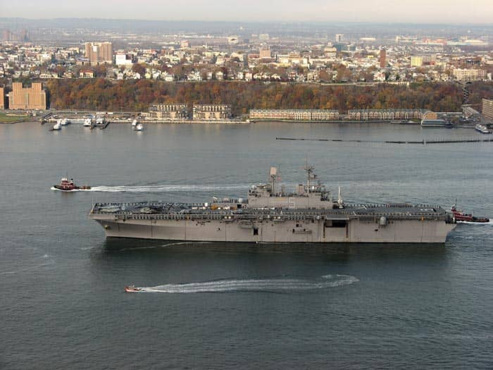 Fleet Week i New York - Skib