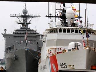 Fleet Week i New York - Skibe