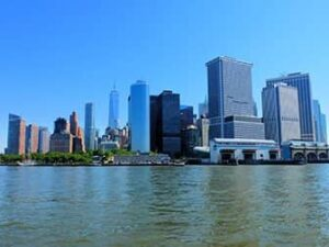 Lower Manhattan og Financial District i New York