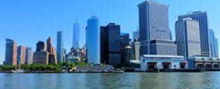 Lower Manhattan og Financial District i New York