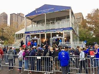 New York Marathon - Marathon Pavilion
