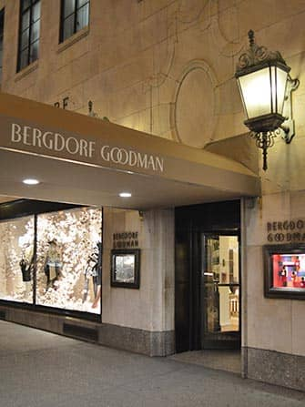 Shopping på Fifth Avenue - Bergdorf Goodman