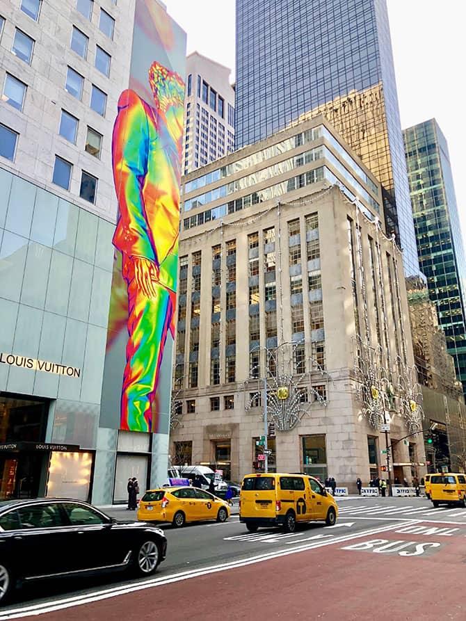 Shopping på Fifth Avenue - Tiffany's