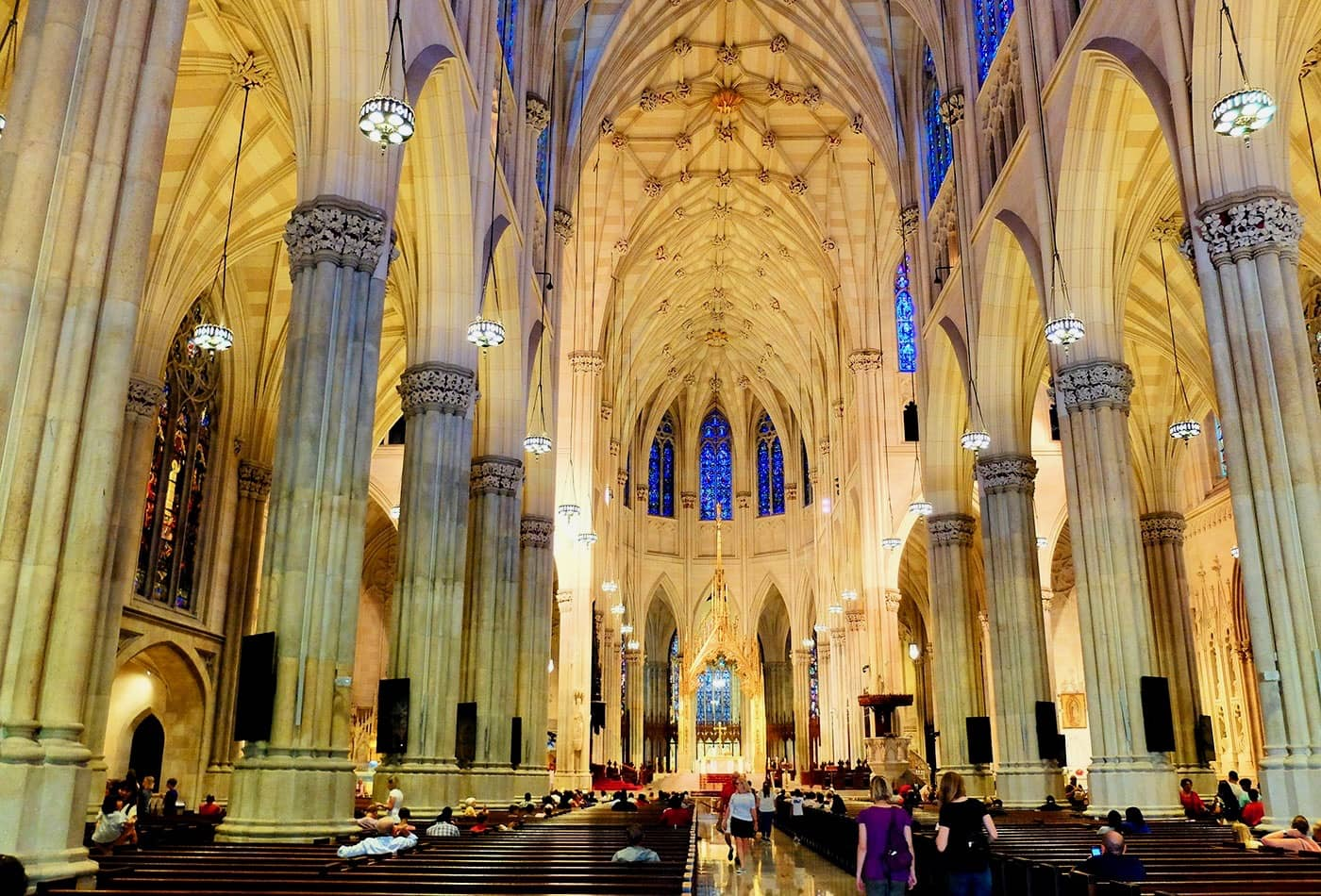 St. Patrick's Cathedral i New York - Imponerende arkitektur