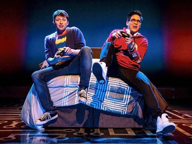 Be More Chill Broadway billetter - Jeremy og Michael