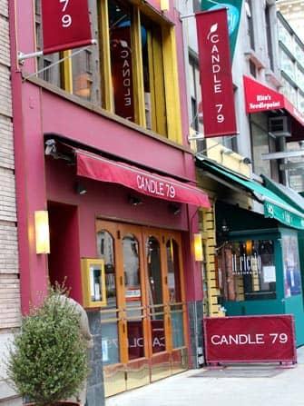 Romantiske restauranter og barer i New York - Candle 79