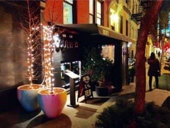 Romantiske restauranter og barer i New York - Cocotte