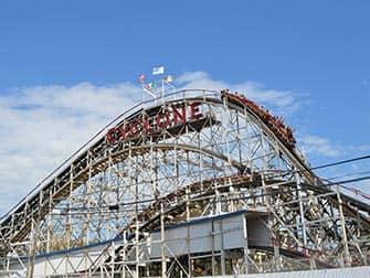 Coney Island i New York - Cyclone