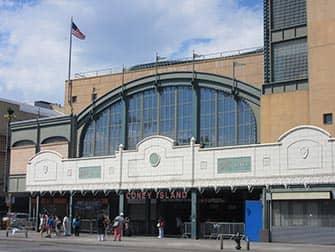 Coney Island i New York - Subway-station