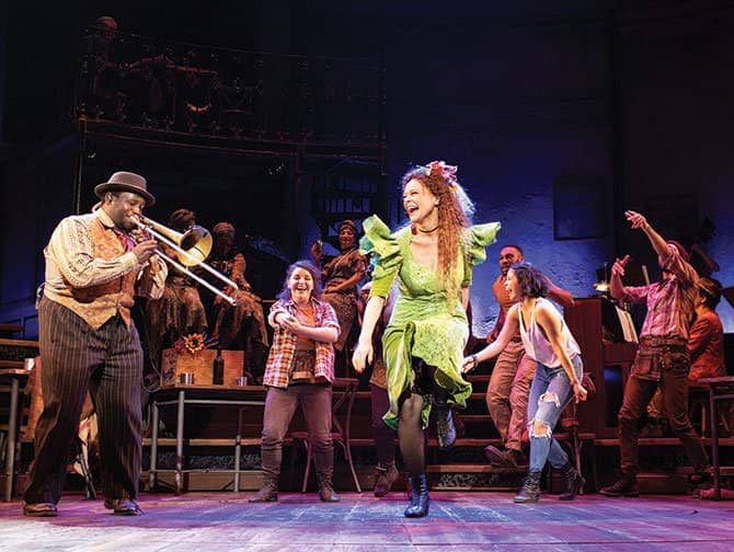 Hadestown Broadway billetter - Dans