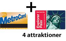 Unlimited + 4 attraktioner