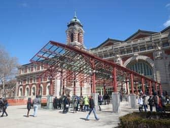 Ellis Island - Museumsindgang