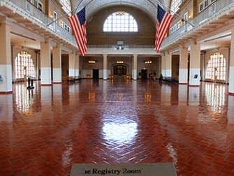 Ellis Island - Registreringsrum
