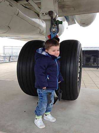 Flyve med børn til New York - Fly