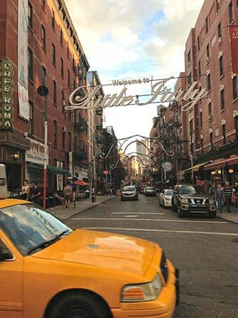 Little Italy i New York - Mulberry Street