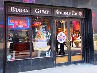 Temarestauranter i New York - Bubba Gump