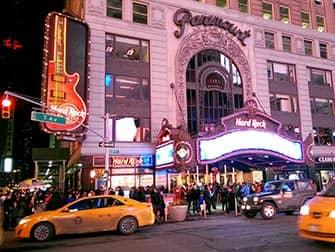 Temarestauranter i New York - Hard Rock Cafe