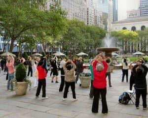 Gratis Tai Chi i New York