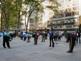 Gratis Tai Chi i New York - Tai Chi-undervisning